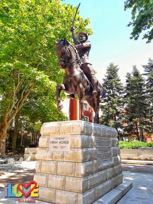 Паметник на генерал Иван Колев в Добрич