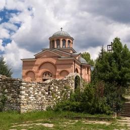 Monastery complex