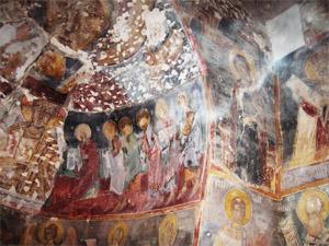 Трънски манастир стенопис