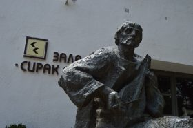 Паметник на Сирак Скитник в Сливен