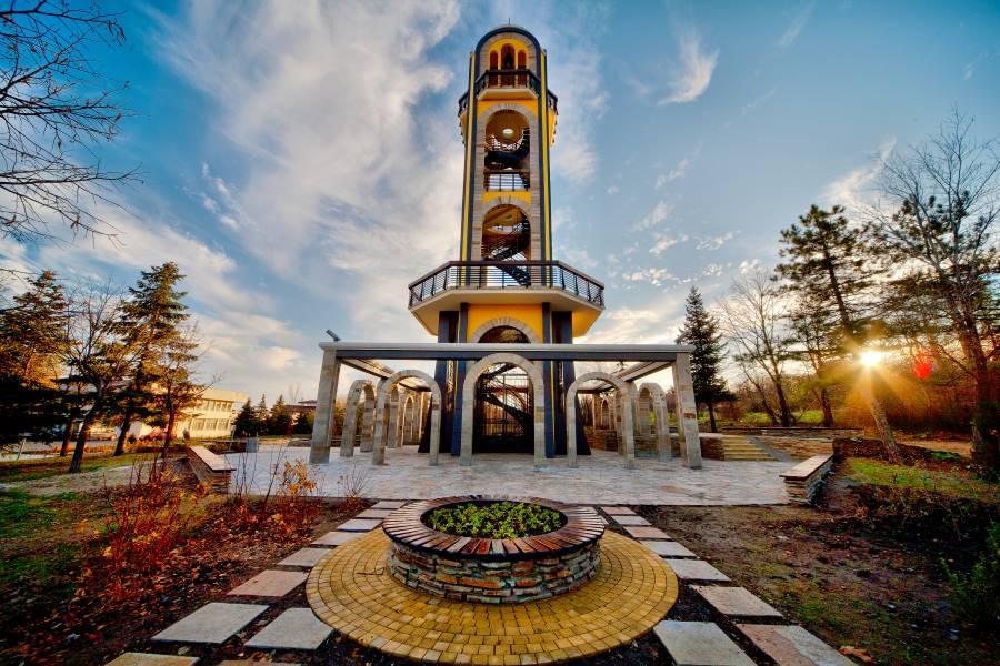 Камбанарията в Хасково