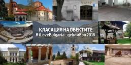 Най-посещаваните туристически обект ив България за декември 2018г.