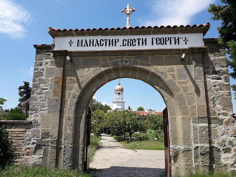 """Поморийски манастир """"Св. георги Победоносец"""""""